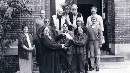 Board of Directors for Maine Folklife Center, 2001.