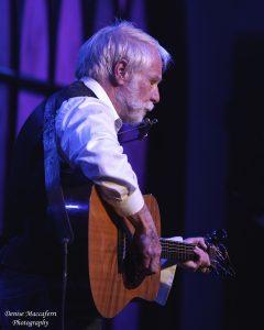David Mallett in concert; photo by Denise Maccaferri.