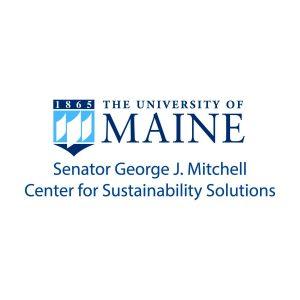 University of Maine: senator George J. Mitchell Center for sustainability solutions logo