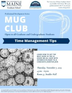 Official Mug Club Flyer