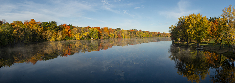 photo of Stillwater River during the fall