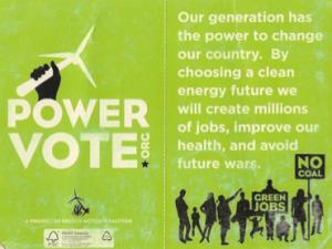 power vote poster