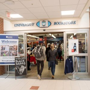 University of Maine Bookstore entrance