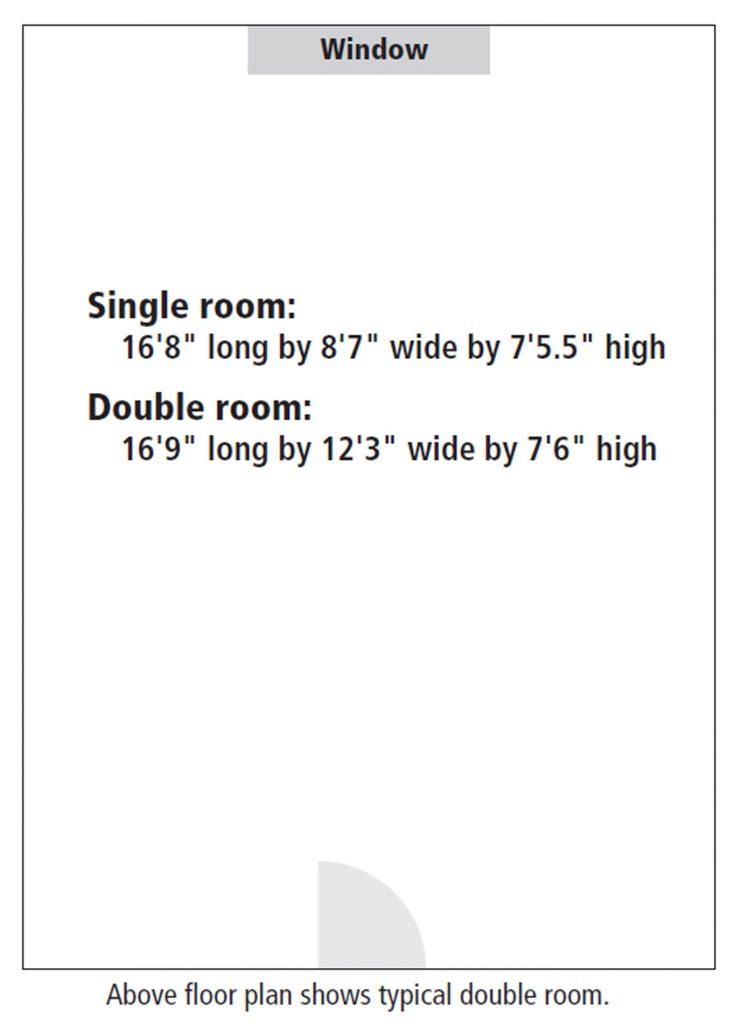 Hart Hall room floor plan