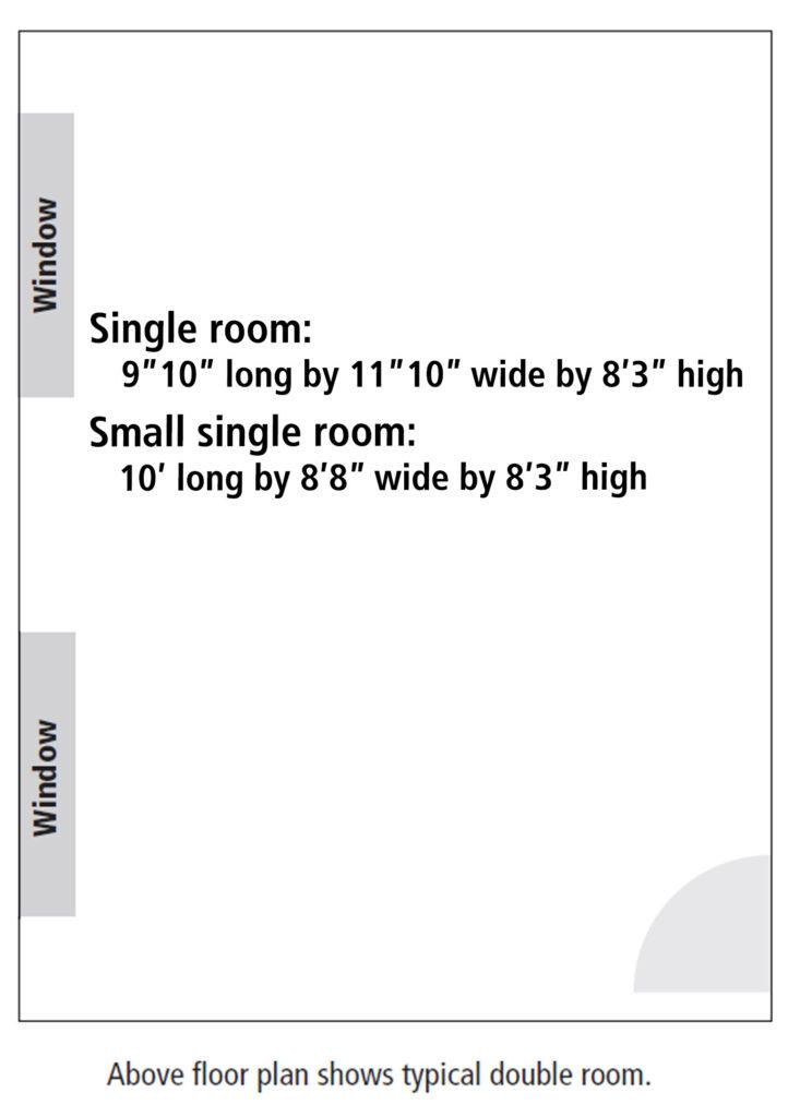 Oak hall room floor plan