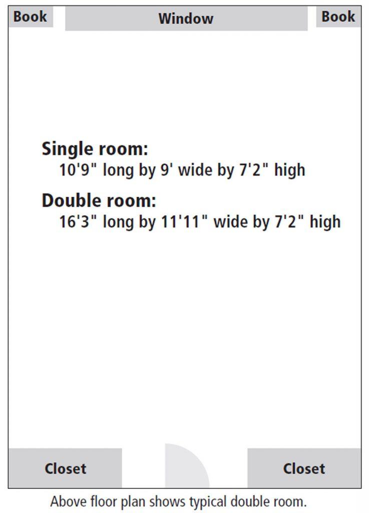 Penobscot Hall room floor plan