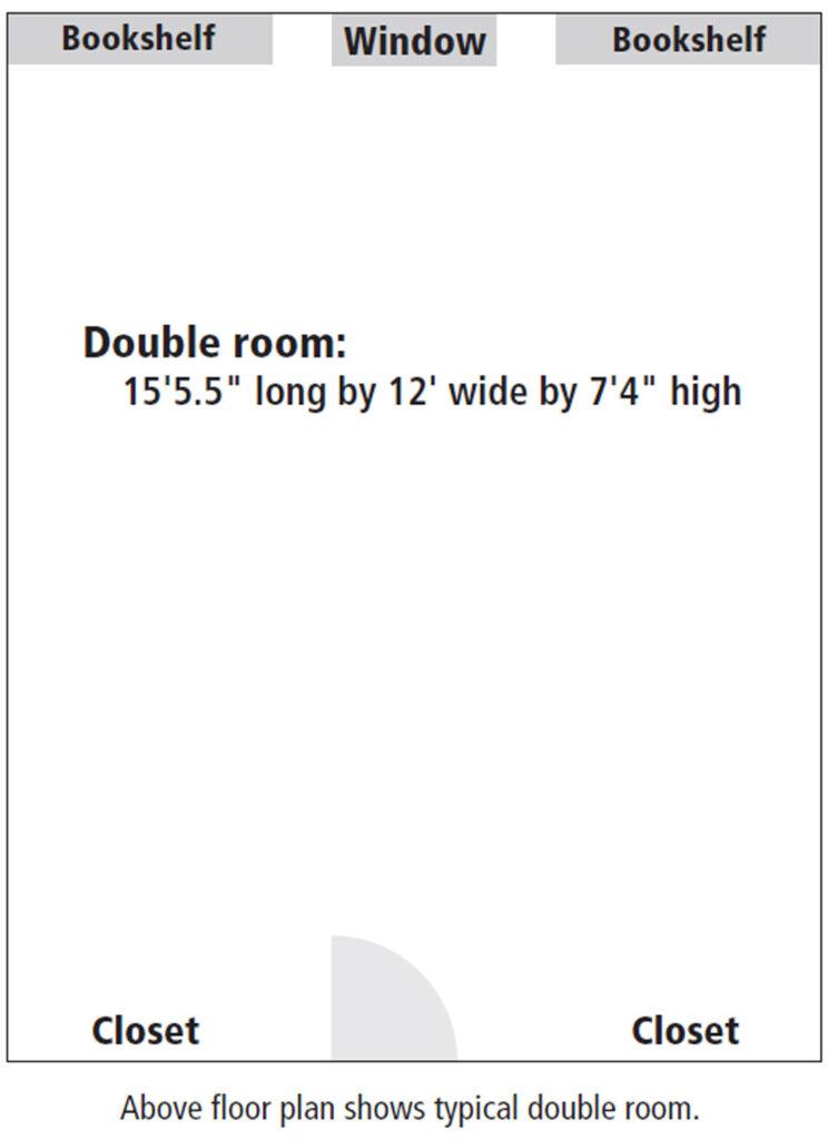 Knox Hall room floor plan