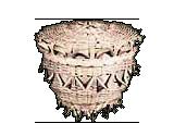 Acorn-shaped Sewing Basket