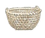 Showshoe Weave Basket