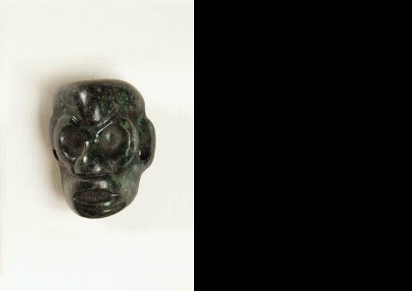 Carved jade ornament