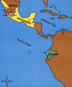 Mexico Maine Map.Map Of Mesoamerica Hudson Museum University Of Maine