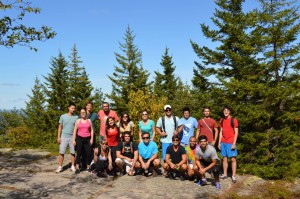 Group Photo in Acadia