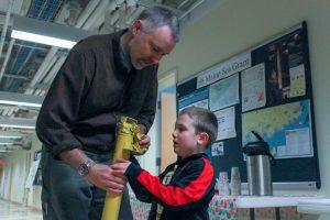 Sea Grant water sampler