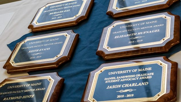 photo of awards given at the FMA event