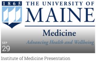 Institute of Medicine Presentation