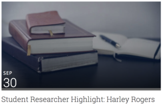 Student Researcher Highlight