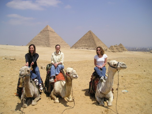 Daidem Strout - Egypt