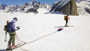 Ground-penetrating radar research in Alaska