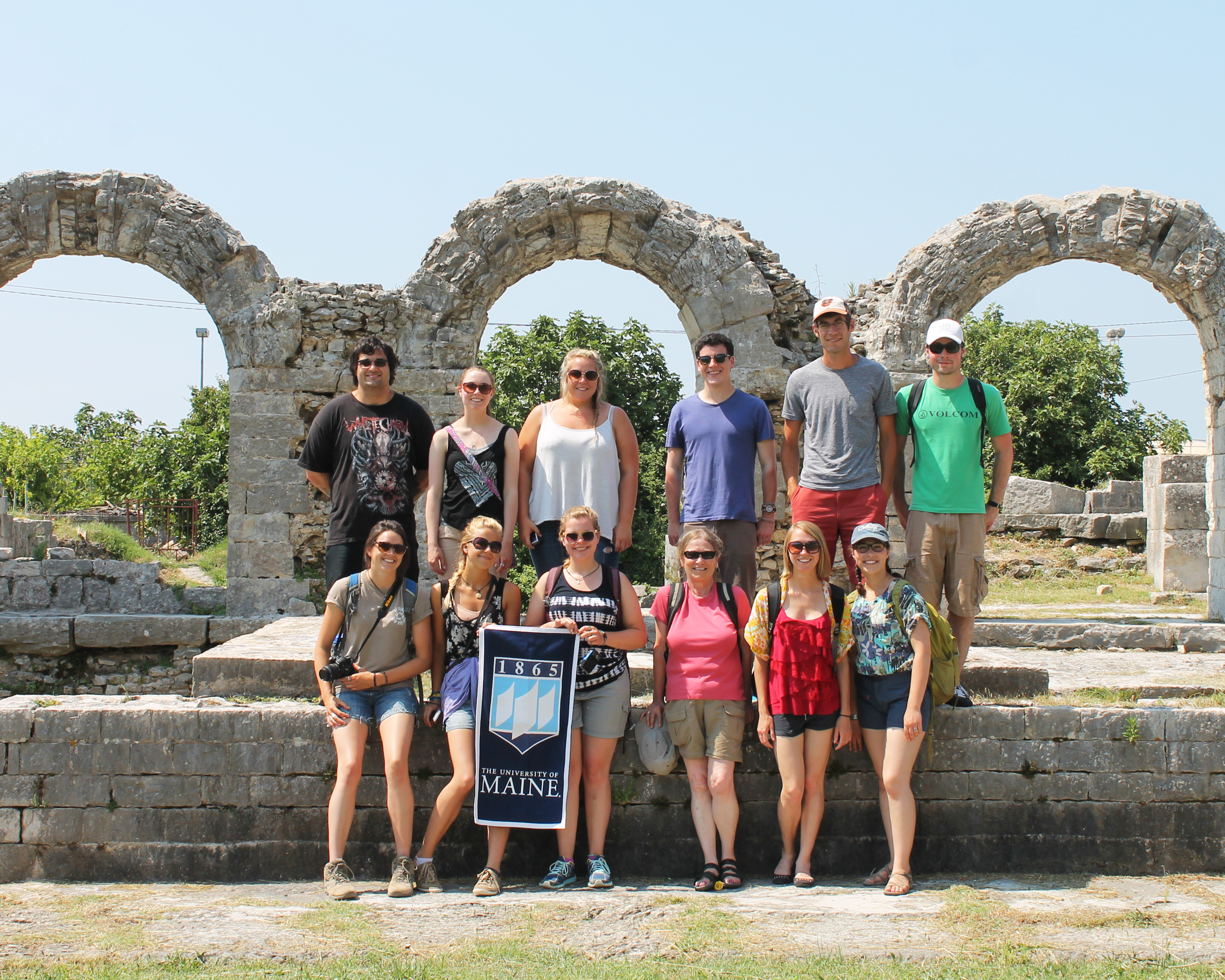 Croatia - study abroad group photo
