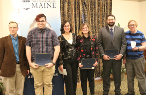 outstanding graduate student award winners and their presenters