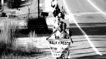 maine walk for peace douglas allen