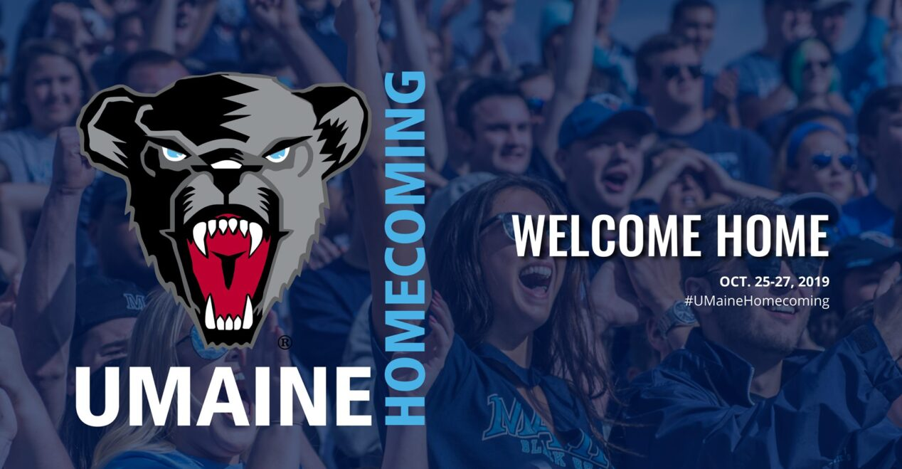 Banner for Homecoming Weekend 2019
