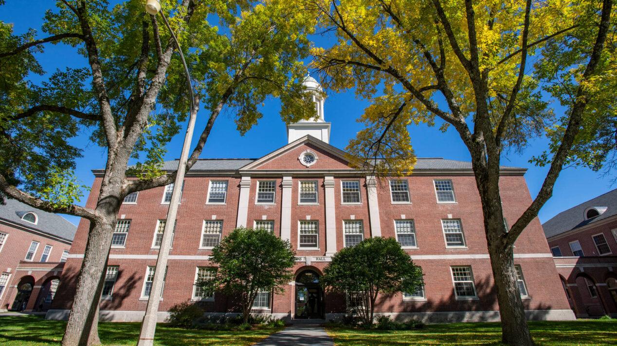Center Stevens Hall in Summer