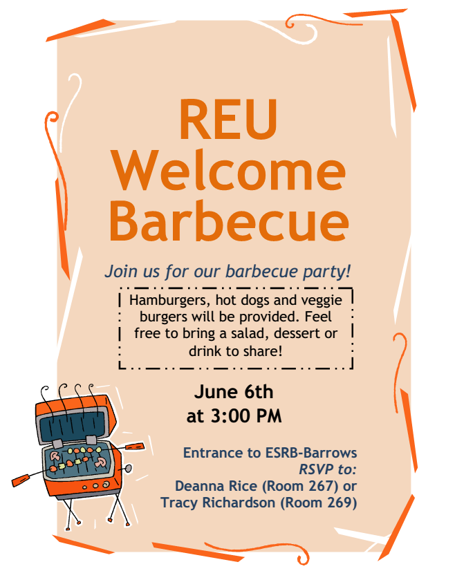 RUE BBQ Flyer