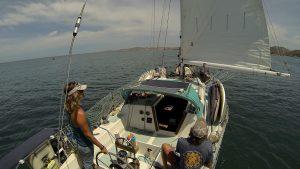 Jess RM sailing