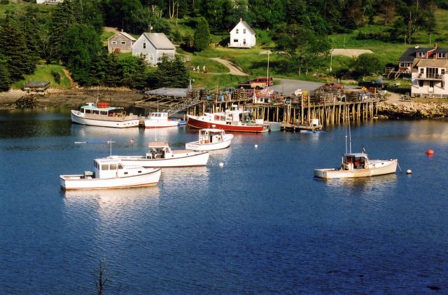 Can You Name This Picturesque Harbor? – 7/2002