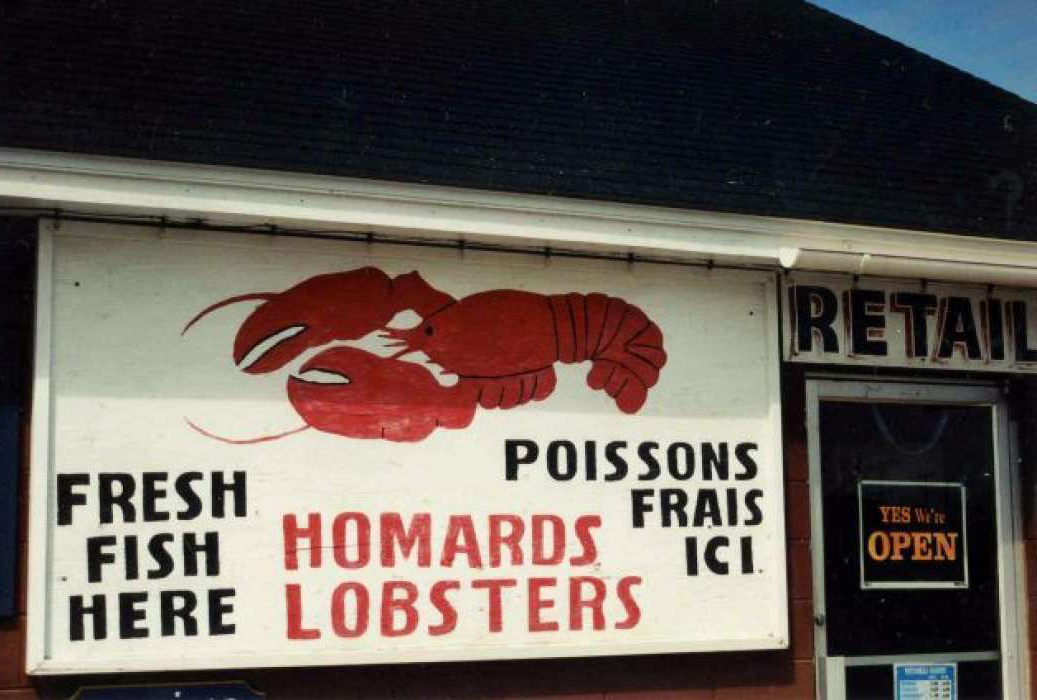 Buying Lobster on P.E.I. – 6/2004