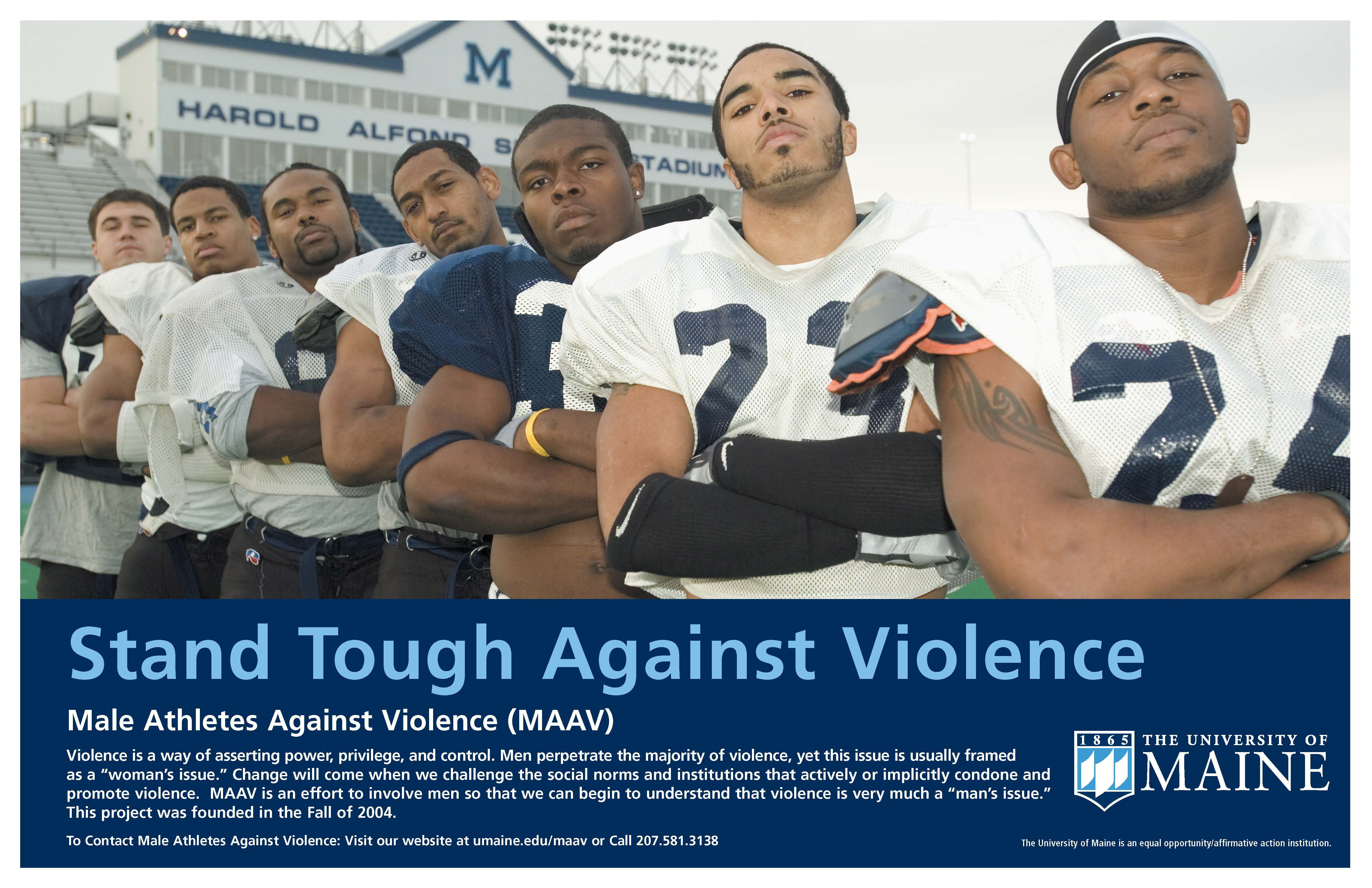 Poster: Stand Tough Against Violence