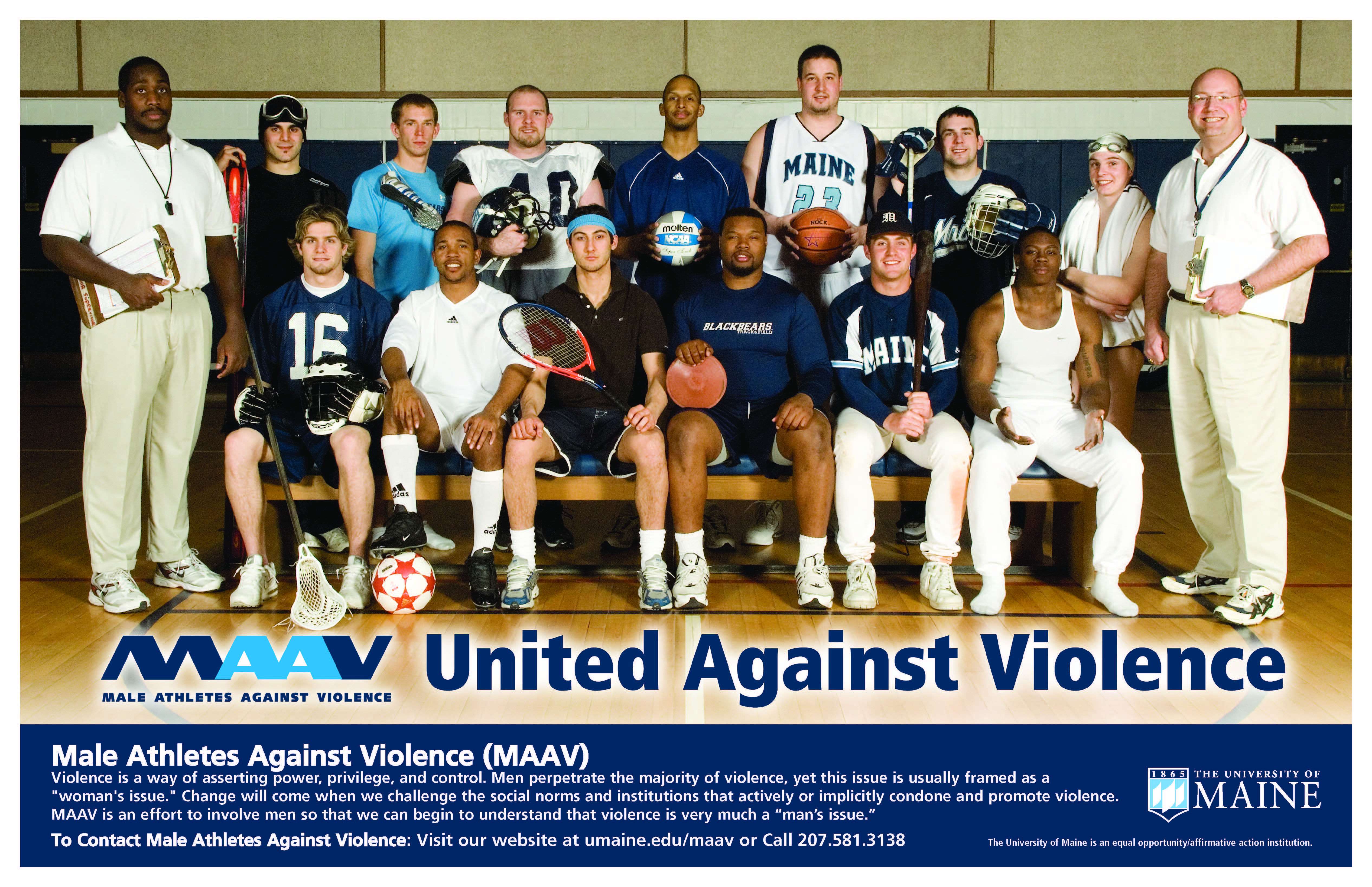 United Against Violence poster