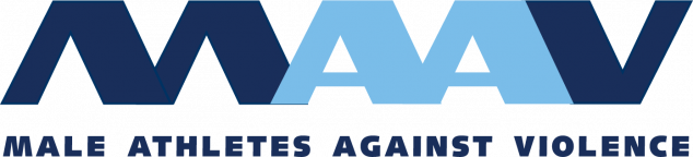 Male Athletes Against Violence logo