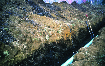 featured image for Miscellaneous report on seasonal water table and temperature relationships in central Maine soils