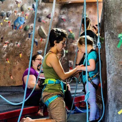 youth climb