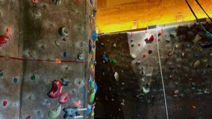 indoor climbing center