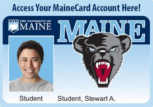 An example of a new Maine card.