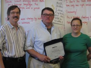 William St. John, Ken Martin, and Karen Girvan