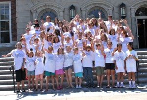 young authors group photo