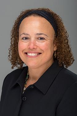 Portrait of Denise Skonberg.