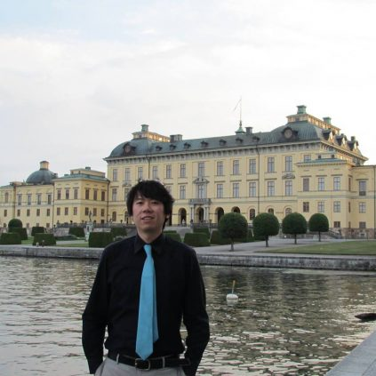 Portrait of Ango Hsu.