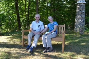 picture of Elsie's bench