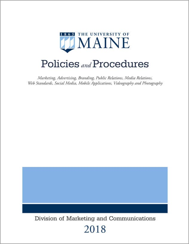 Policies and procedures cover