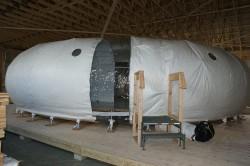 inflatable lunar habitat