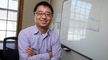 Faculty member awarded CAREER award to study voice.