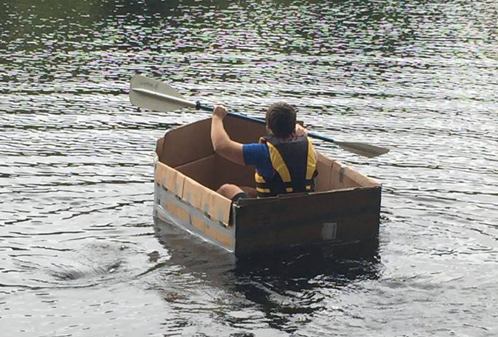 featured image for Design & Build Cardboard Canoe Race