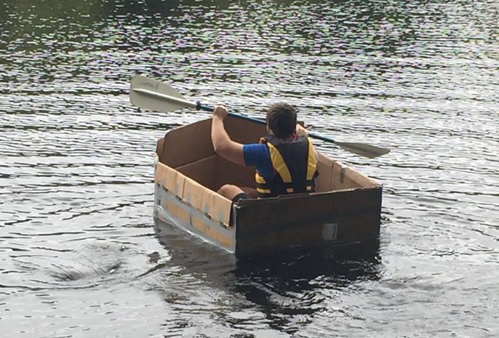 featured image for Design & Build Cardboard Canoe Race