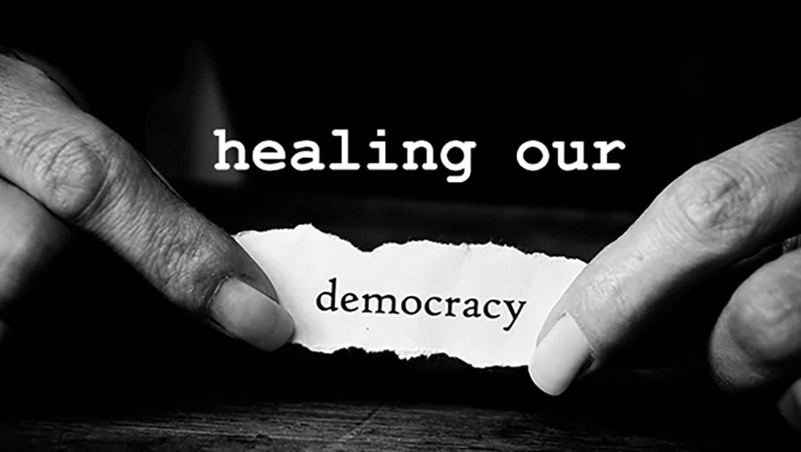 featured image for Mitchell Lecture on Sustainability: Healing Our Democracy