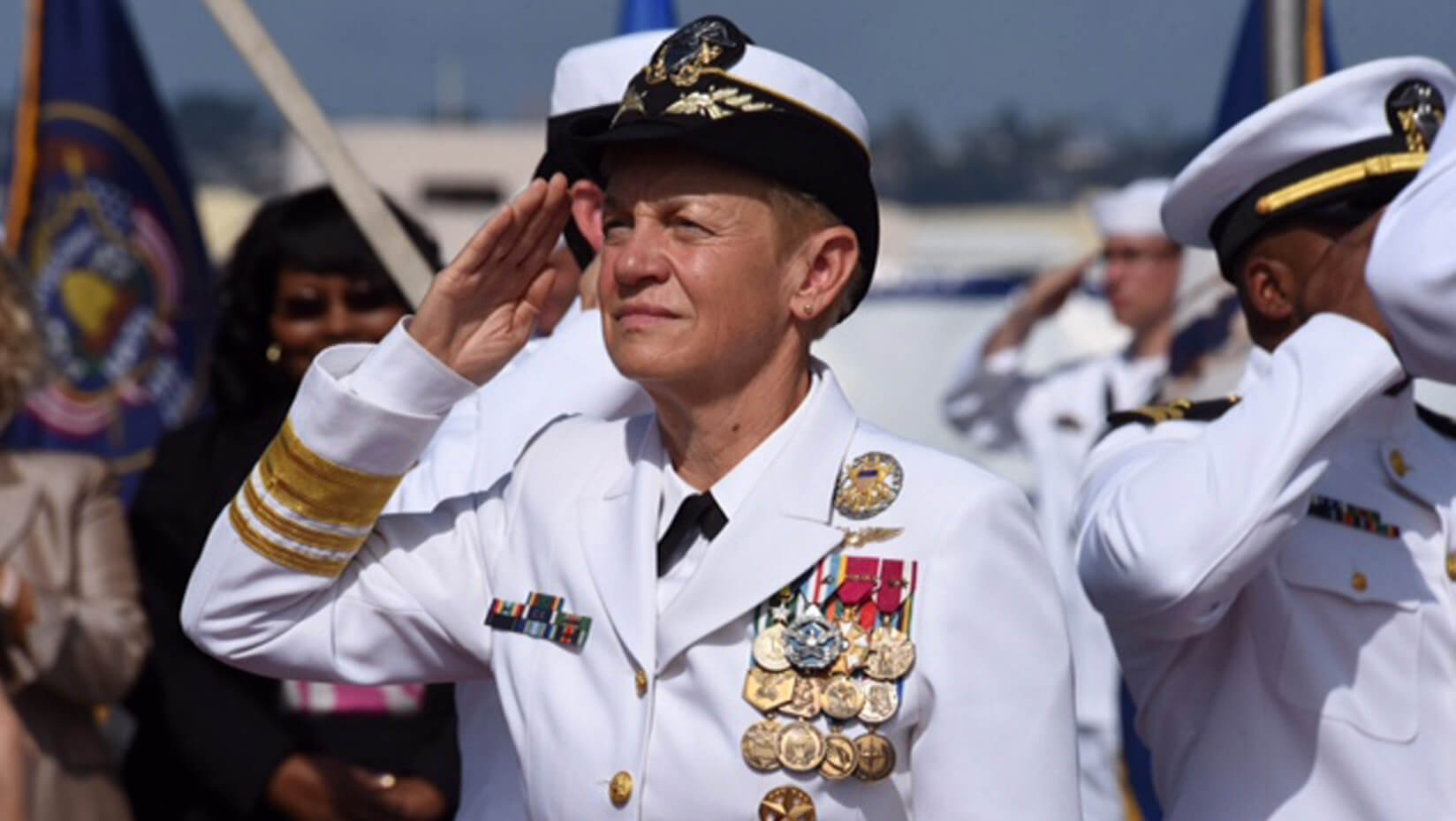 featured image for Retired Vice Admiral Nora Tyson to give Margaret Chase Smith Public Affairs Lecture Oct. 2